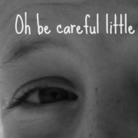 To my boys… Oh be careful little eyes what you see!